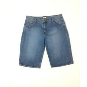 Levis 515 Bermuda Jeans Shorts  Denim Medium Wash